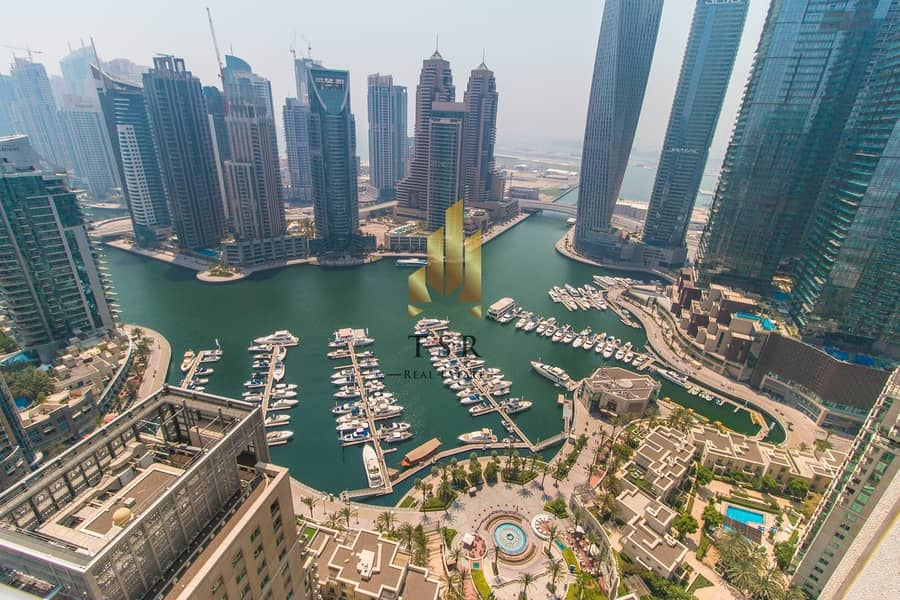 2 Full Marina | Penthouse |5Br+M | Al Mesk Tower