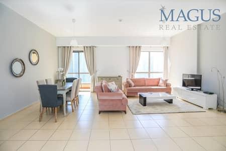 فلیٹ 2 غرفة نوم للبيع في جميرا بيتش ريزيدنس، دبي - Full Marina View | 2 BR | Spacious