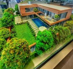 MASAAR 5 Bed room Luxury Smart Standalone Villa Park View With  Free Big Pool only 5%