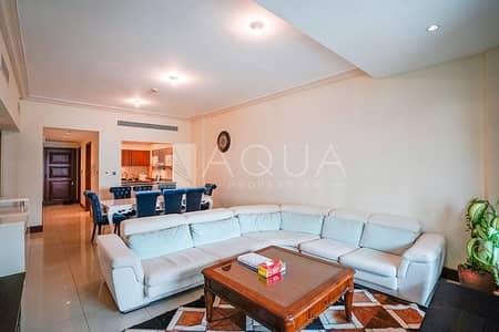 شقة 1 غرفة نوم للايجار في نخلة جميرا، دبي - Furnished | Vacant | Multiple Options