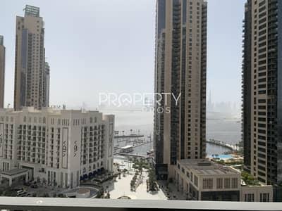 شقة 2 غرفة نوم للايجار في ذا لاجونز، دبي - Creek & Burj View | Chiller Free | Balcony