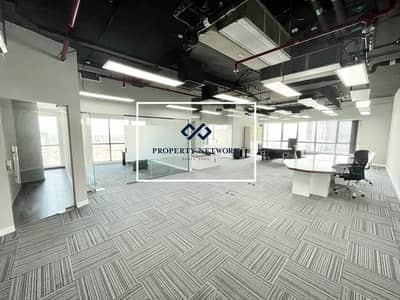 Office for Rent in Barsha Heights (Tecom), Dubai - Partially Furnished I Two Partitions I Higher Floor