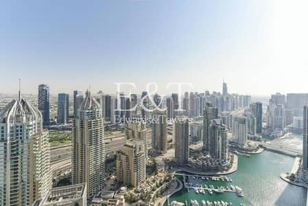 2 Bedroom Flat for Rent in Dubai Marina, Dubai - Furnished 2BR