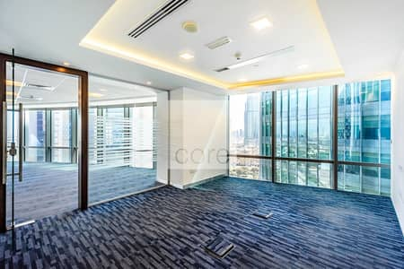 Office for Rent in DIFC, Dubai - Fully Fitted Office | Service Charge Included