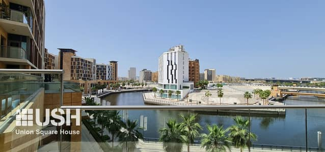 2 Bedroom Apartment for Rent in Culture Village, Dubai - 2Br with Maids Terrace Apt Creek and Canal View