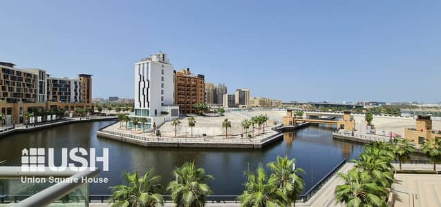 3 Bedroom Flat for Rent in Culture Village, Dubai - 3Br with Maids Terrace Apt Creek and Canal View