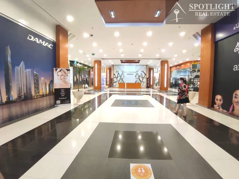 2 Fiited Semi furnished shop   for rent   DIFC   Park Towers
