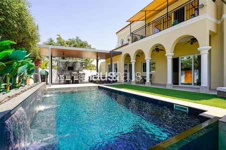 5 Bedroom Villa for Sale in Green Community, Dubai - Fully Upgraded and Extended Family Villa