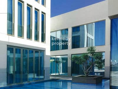 5 Bedroom Villa for Rent in Between Two Bridges (Bain Al Jessrain), Abu Dhabi - Private Pool I Luxury Living  I Landscaped Garden