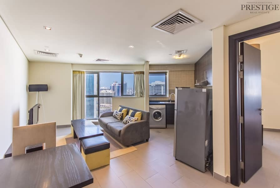 2 1Bed Furnished |The Bridge | Sports city