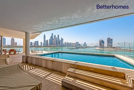 4 Bedroom Flat for Sale in Palm Jumeirah, Dubai - Big Terrace | Private Pool | Full Skyline View