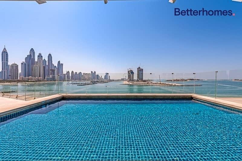 2 Big Terrace | Private Pool | Full Skyline View