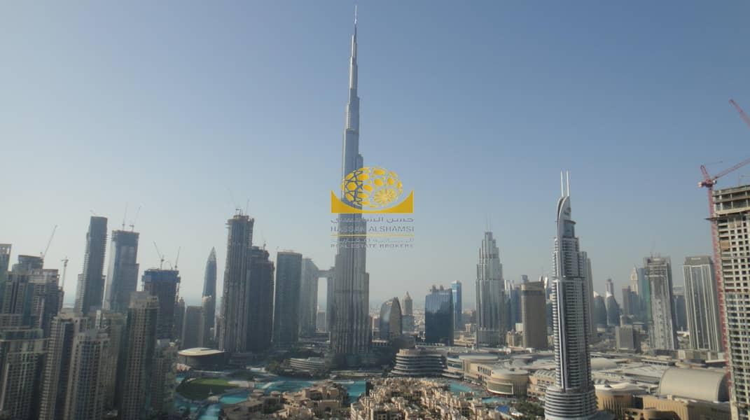 Full Burj Khalifa & Fountain View / High Floor / Vacant