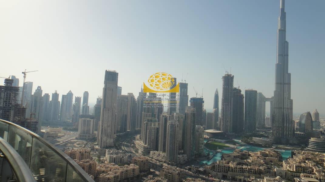 2 Full Burj Khalifa & Fountain View / High Floor / Vacant