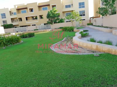 3 Bedroom Townhouse for Rent in Al Raha Gardens, Abu Dhabi - LARGE 3B+MAIDS TOWNHOUSE | TYPE S | 3 FLOORS | LUXURY COMMUNITY WITH GARDEN