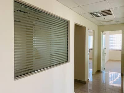 Office for Rent in Jumeirah Lake Towers (JLT), Dubai - Higher Floor | Fully fitted with 3 Partitions office for rent In HDS tower just in 60K