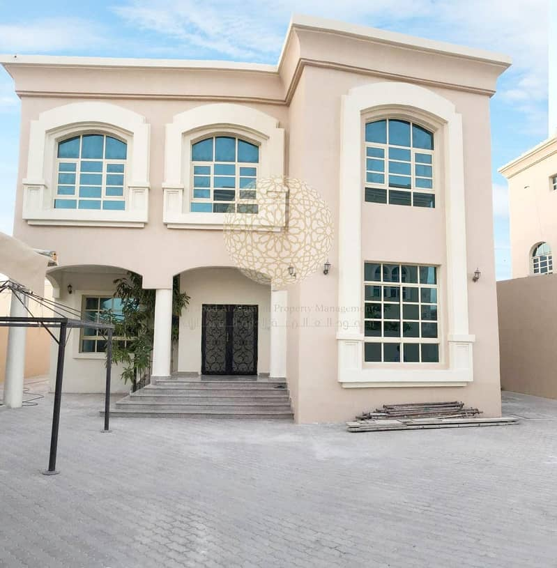 SUPER DELUXE 5 MASTER BEDROOM INDEPENDENT VILLA WITH KITCHEN OUTSIDE FOR RENT IN KHALIFA CITY A