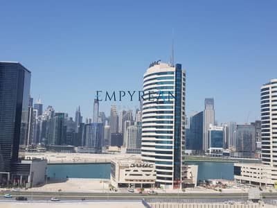 Studio for Rent in Business Bay, Dubai - Fully Furnished | High floor | Canal view