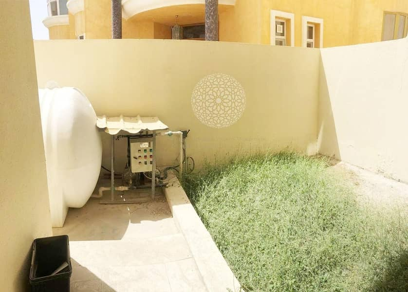 17 EXCELLENT FINISHING 5 MASTER BEDROOM  SEMI INDEPENDENT VILLA FOR RENT IN KHALIFA CITY A