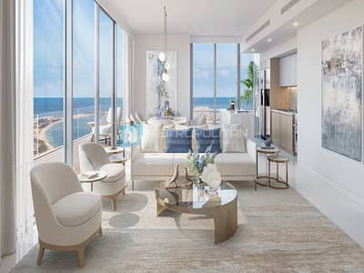 1 Bedroom Flat for Sale in Dubai Harbour, Dubai - Private beach|Flexible Payment Plan|No agency Fee