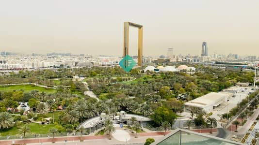 2 Bedroom Apartment for Sale in Bur Dubai, Dubai - Full Frame and Park View | Brand New | Near Metro