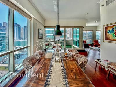 3 Bedroom Apartment for Sale in Dubai Marina, Dubai - Stunning Upgraded Marina View Apartment