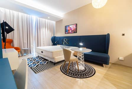 استوديو  للايجار في الصفوح، دبي - Fully Furnished Studio | Sea View| Well maintained