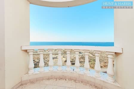 Studio for Rent in Al Hamra Village, Ras Al Khaimah - Exceptional Studio with Full Sea View  - Great Community
