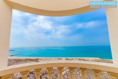 Studio for Rent in Al Hamra Village, Ras Al Khaimah - Full Sea View - Partly Furnished - Ready to Move Into