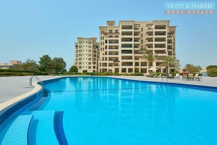 3 Bedroom Apartment for Sale in Al Hamra Village, Ras Al Khaimah - Big Balcony Marina - Amazing View - Maids room