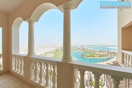 1 Bedroom Apartment for Sale in Al Hamra Village, Ras Al Khaimah - Stunning Skyline - Large Balcony - Golf & Lagoon View