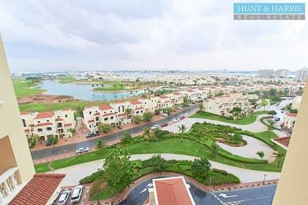 1 Bedroom Apartment for Rent in Al Hamra Village, Ras Al Khaimah - Remarkable Lagoon View - Convenient Location- On a Mid Floor