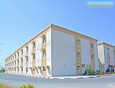 Labour Camp for Rent in Al Hamra Industrial Zone, Ras Al Khaimah - Staff Accommodation - 2 bedroom space - Utility Bills Included