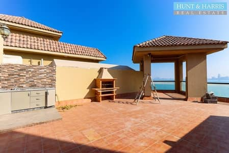 2 Bedroom Hotel Apartment for Rent in Al Marjan Island, Ras Al Khaimah - Penthouse - Stunning Sea Views - Well Maintained.