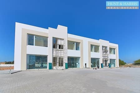 Shop for Rent in Al Dhait, Ras Al Khaimah - Last Unit Available - Facing Main Road - Fully Fitted