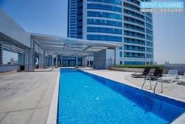 شقة في جلفار تاورز دفن النخیل 1 غرف 450000 درهم - 5070044
