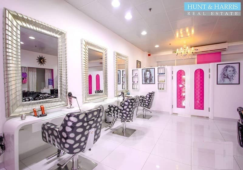 2 Beauty Salon & Spa For Sale - With License