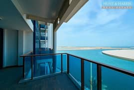 شقة في لاجون میناء العرب 3 غرف 1100000 درهم - 4966004