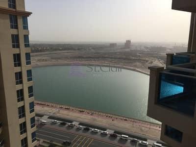 Studio for Rent in Dubai Production City (IMPZ), Dubai - Exclusive Property Lago Vista Tower A with parking Studio For Rent 1950000
