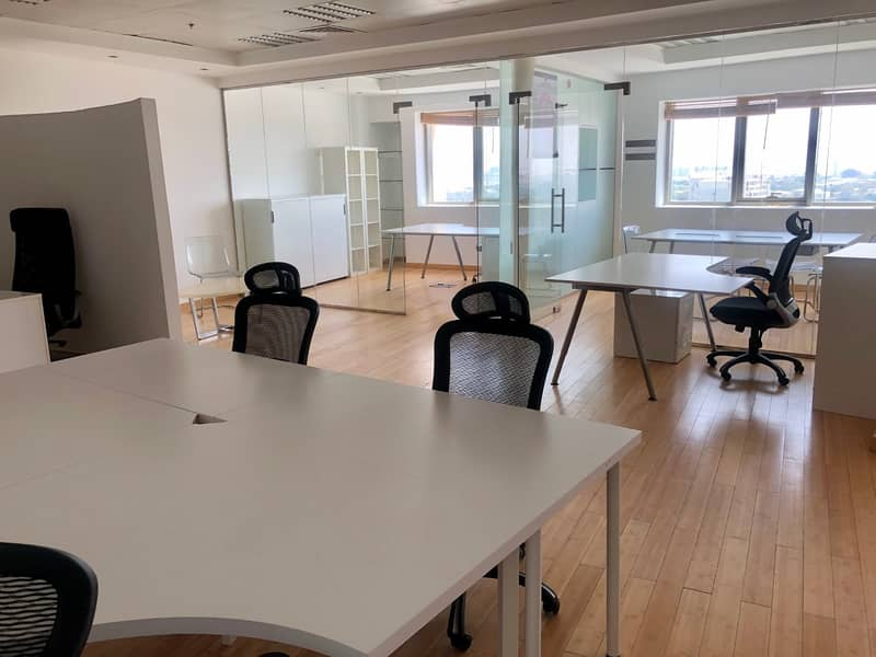 Fully Furnished  | Office Space for Sale | Motor City
