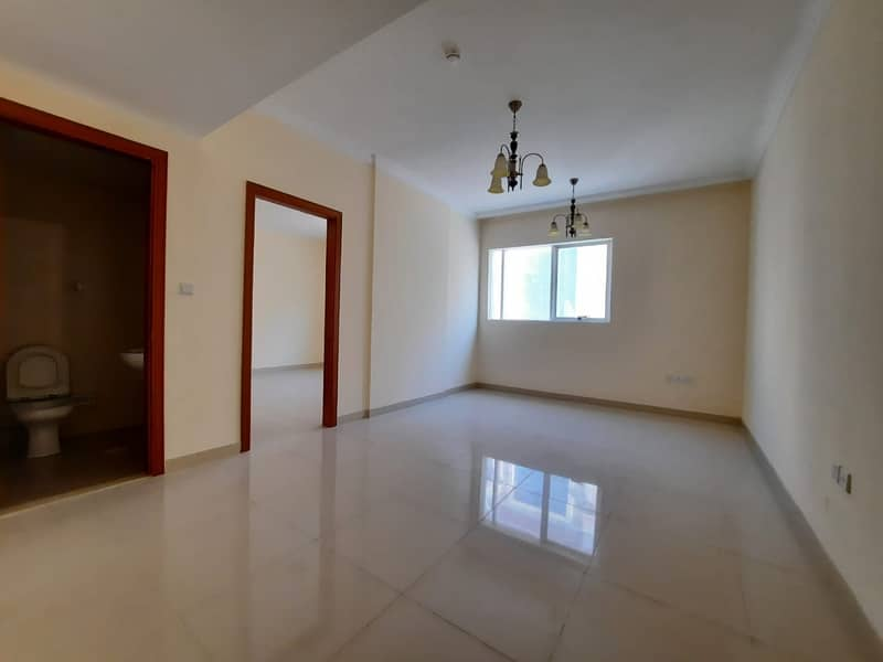 2 month free spacious 1bhk with balcony wardrobe parking in new muwaileh area just 26k in 4/6 cheque payment