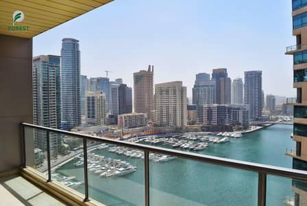 2 Bedroom Apartment for Rent in Dubai Marina, Dubai - Amazing  Unit  Marina & Sea Views   High Floor