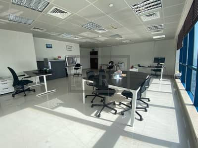 Office for Rent in Jumeirah Lake Towers (JLT), Dubai - BRIGHT | HIGH FLOOR | OPEN PLAN | LAKE VIEW