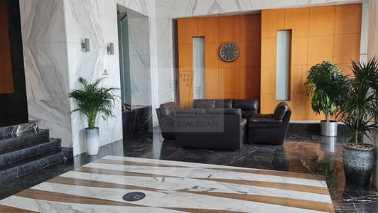 2 Bedroom Flat for Sale in Al Khan, Sharjah - Two Balcony the building on the sea