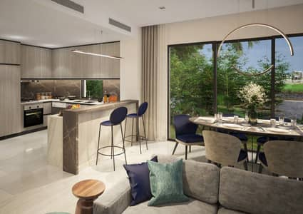 4 Bedroom Villa for Sale in DAMAC Hills (Akoya by DAMAC), Dubai - First row 4 bedrooms villa / 4 years payment plan
