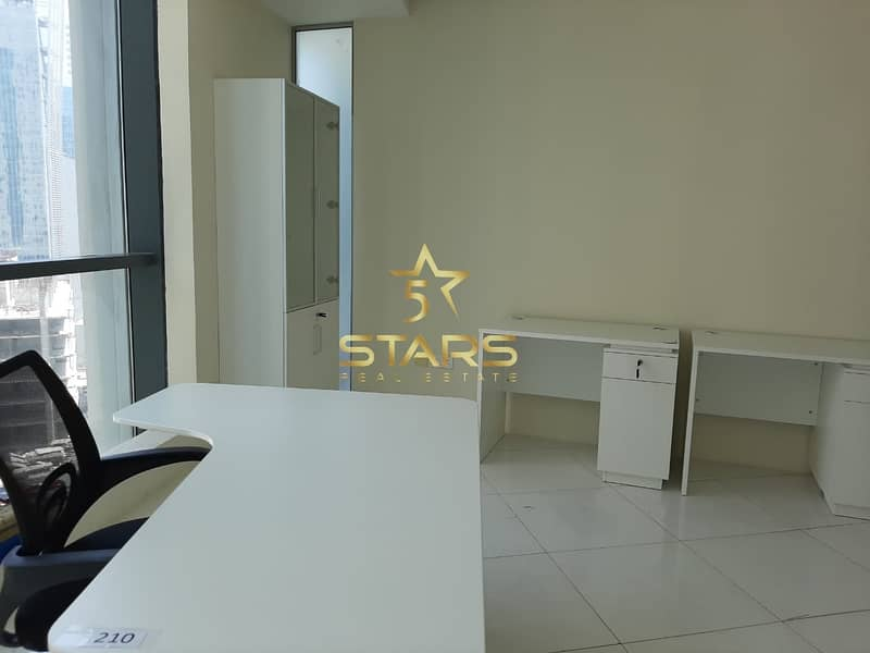 2 Pay 6000 AED and get 1 Desk Space | Direct from Owner | Near to M etro