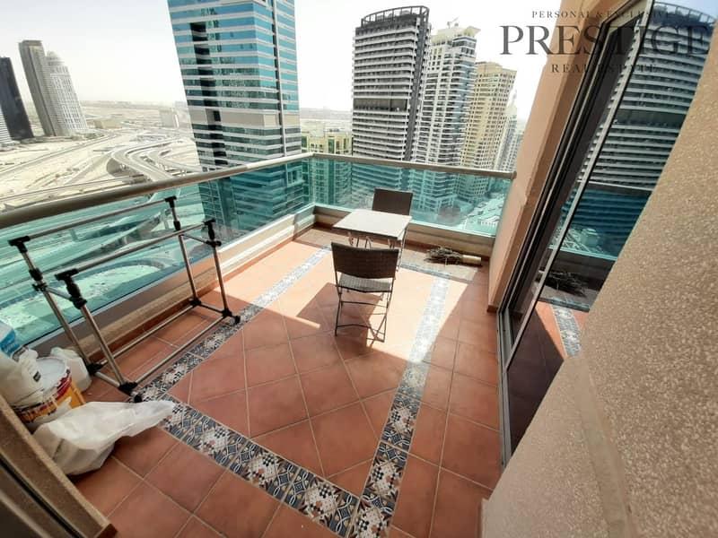 16 Furnished |  Dubai Marina | Balcony