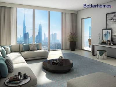 3 Bedroom Flat for Sale in Downtown Dubai, Dubai - 2 Years Post handover|Spacious 3 Bedroom