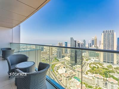 1 Bedroom Apartment for Sale in Downtown Dubai, Dubai - Stylish Residence with Breathtaking Panoramic View