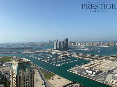 1 Bedroom Flat for Rent in Dubai Marina, Dubai - Amazing one bedroom with unique views of Palm Jumeirah